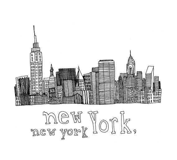 Dibujos de new york imagui for Things to do in nyc for kids today