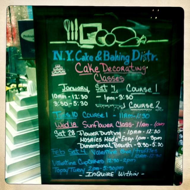 New York Cake & Baking, el paraíso de la repostería - Sola