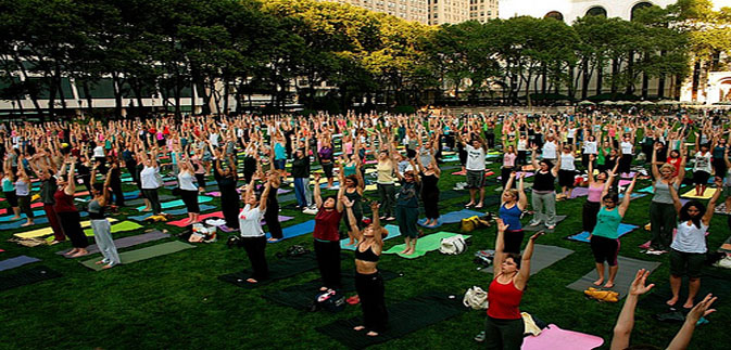 El yoga de Central Park & Battery Park