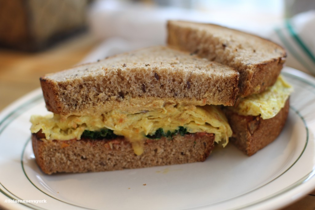 The Butcher´s Daughter Egg Sandwich
