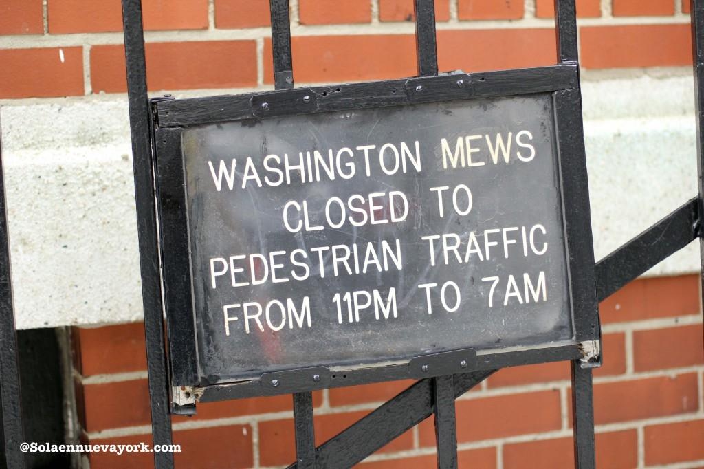 Washington Mews